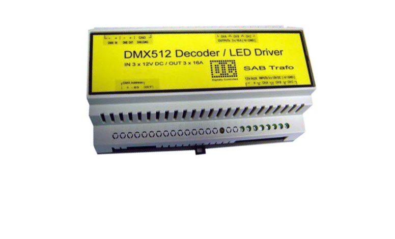DMX dekodér