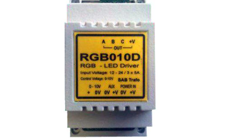 Dvoukanálové řízení RGB