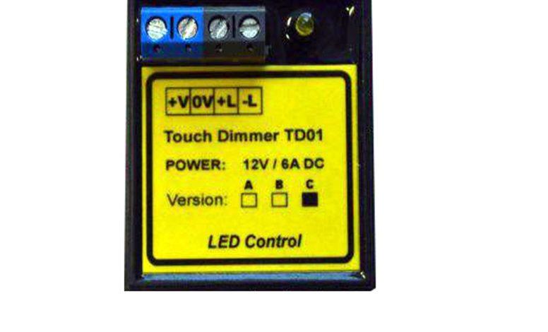 Senzorový ovladač 12V DC