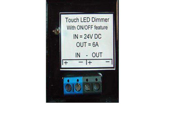 Senzorový ovladač 24V DC